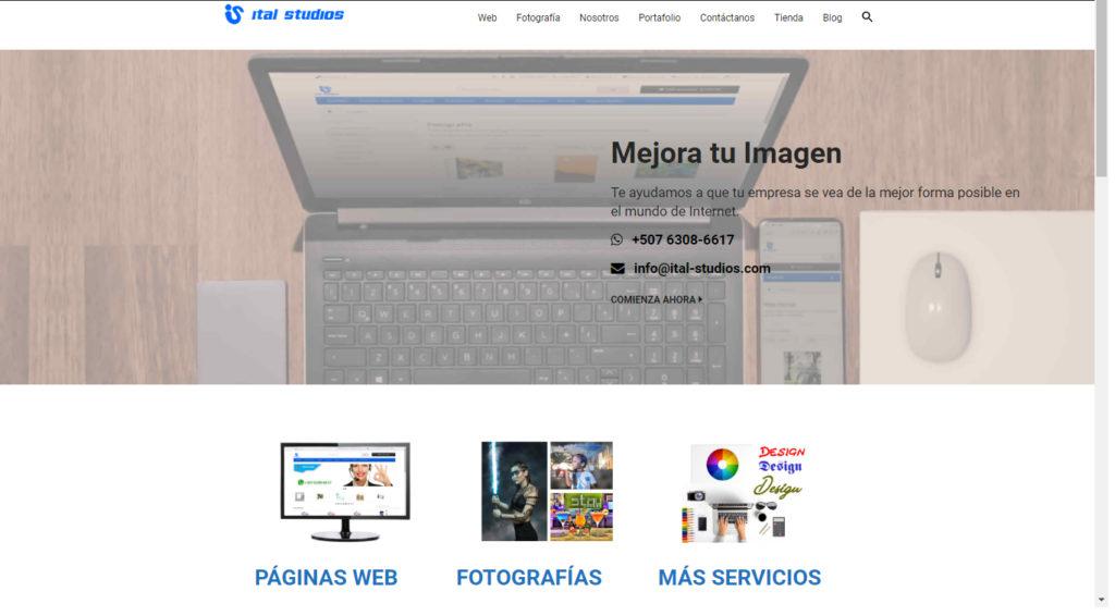 Nuevo Sitio Ital-studios.com
